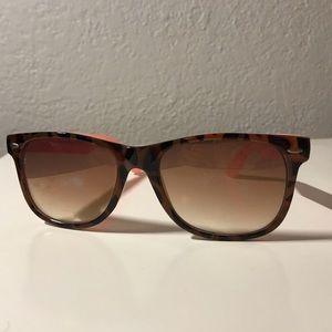 AE tortoise & pink sunglasses